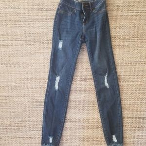 Old Navy ballerina distressed jeggings